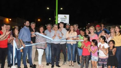 Photo of La Municipalidad de  Castelli inuaguró obras