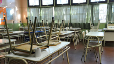 Photo of Sin clases en establecimientos educativos luego del 13 de abril