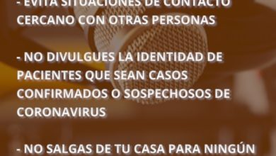 Photo of El Instituto Nuestra Voz lanzó una campaña  para la prevención del Coronavirus.