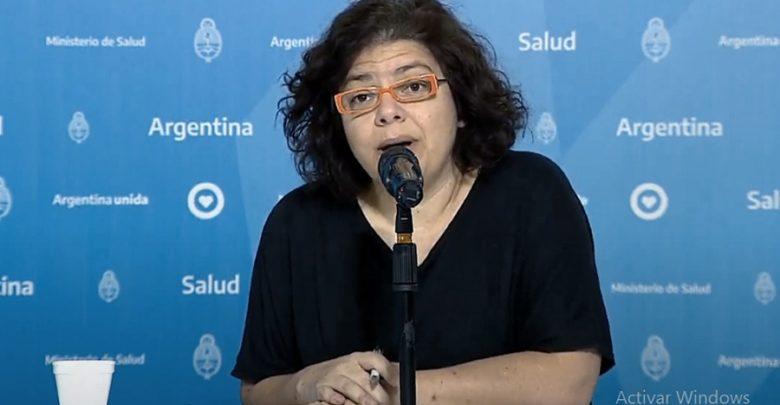 Secretaría de Acceso a la Salud. Carla Vizzotti.
