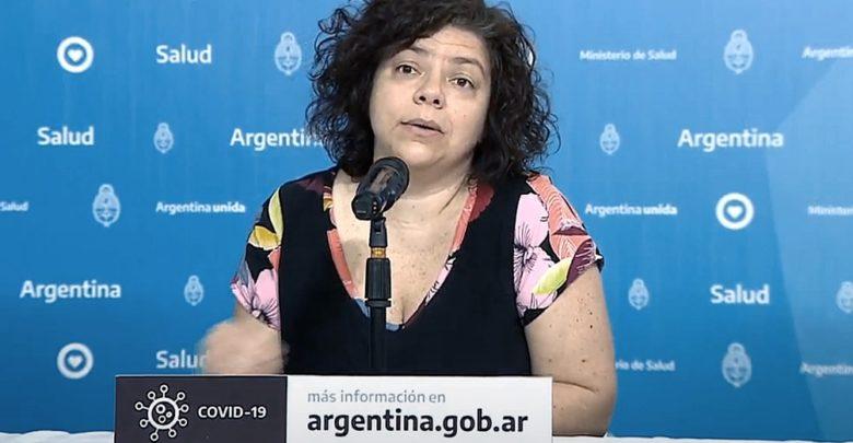 La secretaria de Acceso a la Salud, Carla Vizzotti,