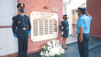 Photo of Sentido homenaje para recordar al comisario Eugenio Pogonza