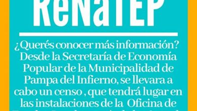 Photo of Censo de economía popular  en Pampa del Infierno