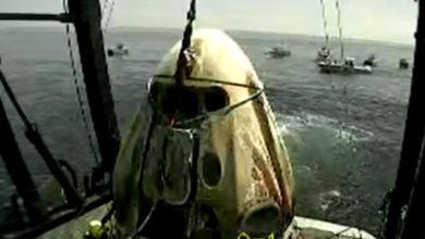Photo of Exitoso regreso de la Crew Dragon a la Tierra