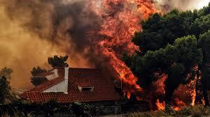 Photo of Un incendio arrasó con las viviendas de más de 10.000 personas en Grecia