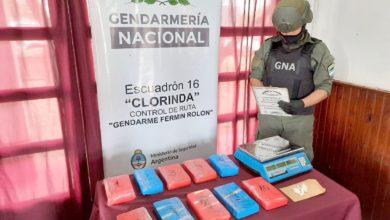 Photo of Gendarmería secuestró más de 10 kilos de cocaína provenientes de Paraguay en un camión