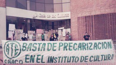 Photo of Continúa el conflicto en Cultura: «Es gravísimo que el secretario Gral de ATE no sepa el contexto en el que nos encontramos los trabajadores»