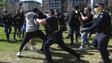 Photo of Australia: más de 20 detenidos en marchas anticuarentena
