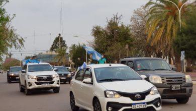 Photo of Caravana de comerciantes por la cuarentena en Villa Ángela