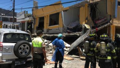 Photo of Una parroquia explotó y dejo varios heridos en Ecuador
