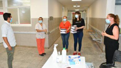 Photo of Salud entregó kits de  test rápidos al hospital de Charata