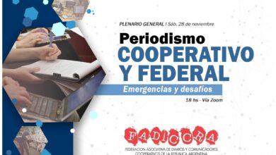 Photo of Fadiccra convoca al encuentro por el periodismo cooperativo y federal