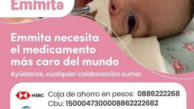 Photo of Todos con Emmita: necesita la medicación más cara del mundo