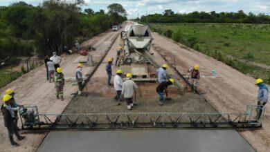 Photo of Vialidad provincial avanza con la  obra en el acceso a Colonia Aborigen