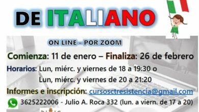 Photo of Se encuentran abiertas las inscripciones de italiano básico en el CTR