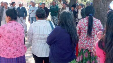 "Photo of La guardia Whasek acampapor demandas ""incumplidas"""