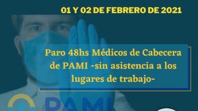 Photo of Médicos de PAMI  pararán por 48 horas