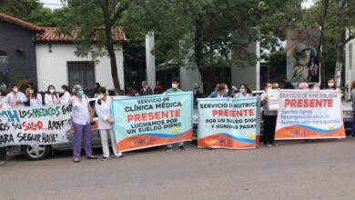 """Photo of Gremial Médica: """"Decimos basta, no podemos  sostener un sistema de  salud destruido"""""""