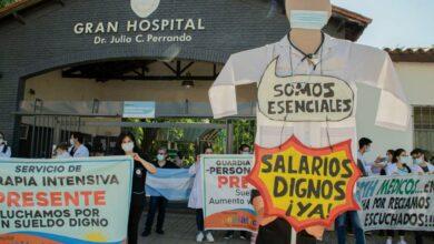 """Photo of """"Necesitamos un aumento del cien por ciento en el sueldo básico"""""""
