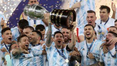 Photo of Argentina campeón de América, luego de derrotar a Brasil 1 a 0