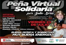 Photo of Peña Virtual Solidaria por el periodista Julio Sosa
