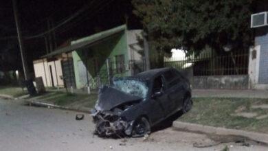 Photo of Conducía alcoholizado, chocó una casa