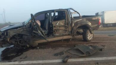 Photo of Triple choque entre dos camiones y una camioneta