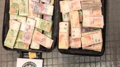 Photo of Secuestraron más de $6 millones en una valija