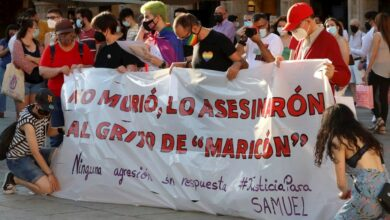 Photo of Crimen de odio en España: marcharon por justicia para Samuel