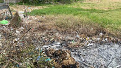 Photo of BARRIO SANTA CLARA: la quema de basura causa problemas respiratorios