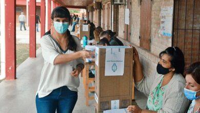"Photo of La vicegobernadora destacó una jornada electoral ""normal"""
