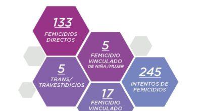 Photo of En lo que va del año, se cometieron 160 femicidios